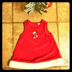 Adorable Red Candy Cane Bell Dress ❤